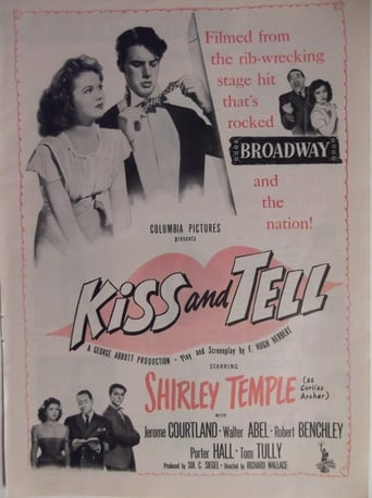 Poster of Kiss and Tell