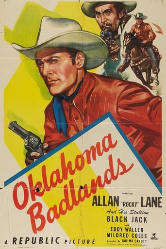 Poster of Oklahoma Badlands