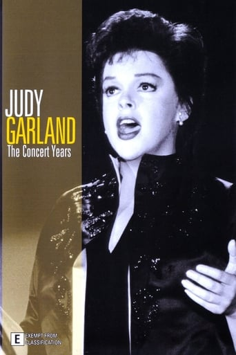 Poster of Judy Garland: The Concert Years
