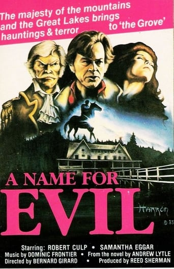 Poster of A Name for Evil