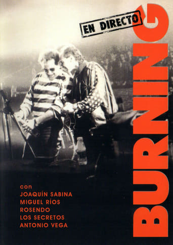 Poster of Burning en directo
