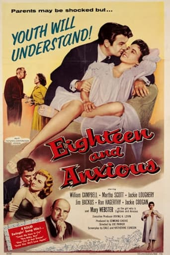 Poster of Eighteen and Anxious