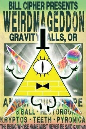 Poster of Gravity Falls: Weirdmageddon