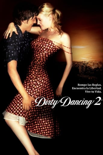 Poster of Dirty Dancing 2, Havana Nights