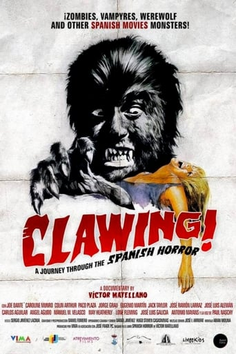 Poster of Clawing! A Journey Through the Spanish Horror