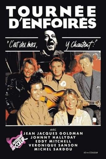 Poster of Les Enfoirés 1989 - Tournée d'Enfoirés