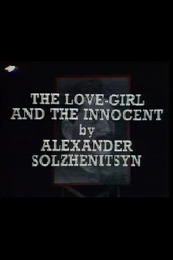 Poster of The Love-Girl and the Innocent