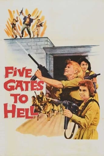 Poster of Five Gates to Hell