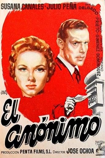 Poster of El anónimo