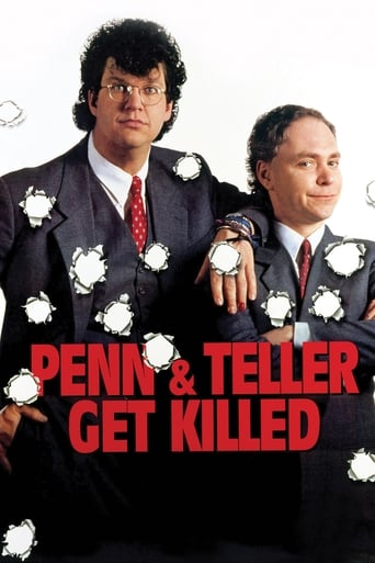 Poster of Penn & Teller Get Killed