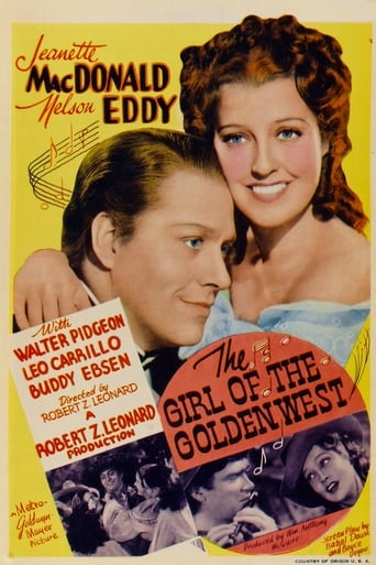 Poster of The Girl of the Golden West