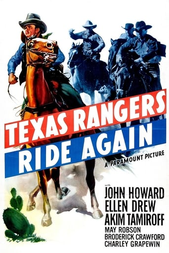 Poster of The Texas Rangers Ride Again