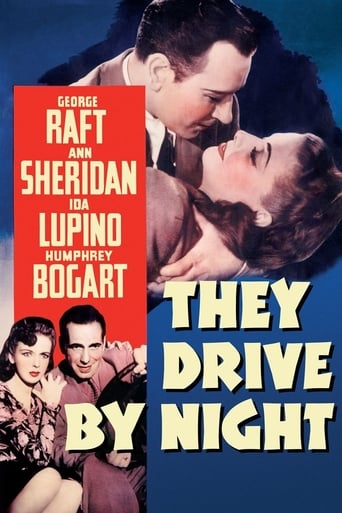 Poster of They Drive by Night