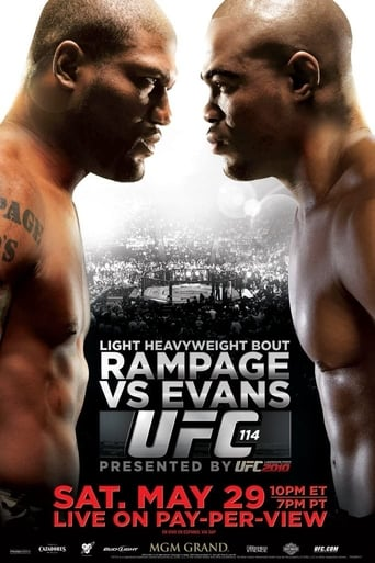 Poster of UFC 114: Rampage vs. Evans