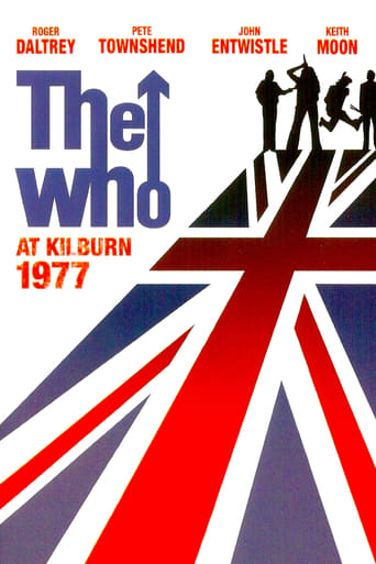 Poster of The Who: The Who at Kilburn 1977