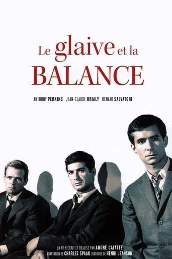 Poster of Le glaive et la balance