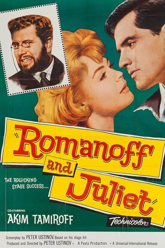 Poster of Romanoff and Juliet
