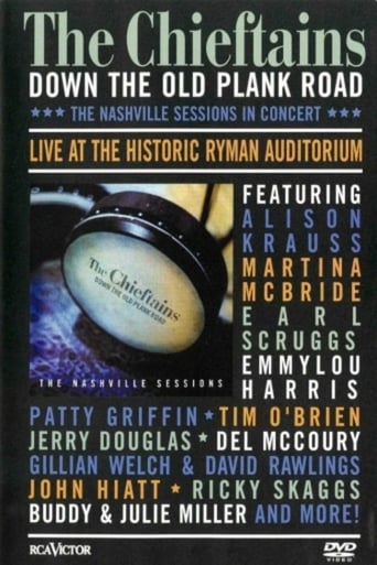 Poster of The Chieftains - Down The Old Plank Road -The Nashville Sessions in Concert