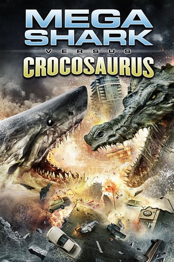 Poster of Mega Shark vs. Crocosaurus