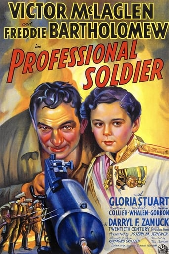 Poster of Professional Soldier