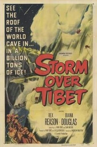 Poster of Storm Over Tibet