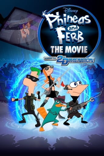 Poster of Phineas and Ferb the Movie: Across the 2nd Dimension