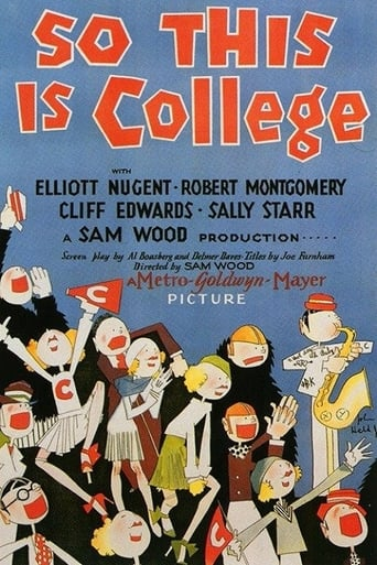 Poster of So This Is College