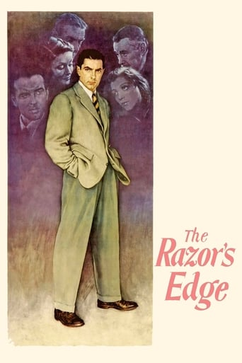 Poster of The Razor's Edge