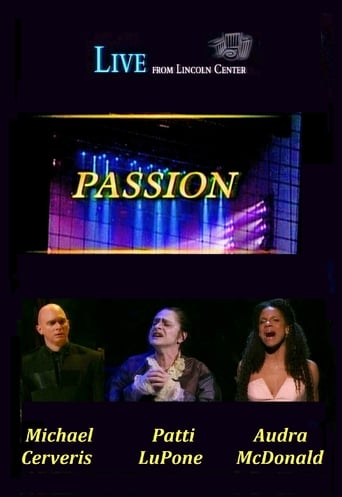 Poster of Passion (Live from Lincoln Center)