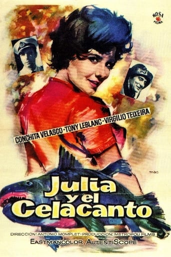 Poster of Julia y el celacanto