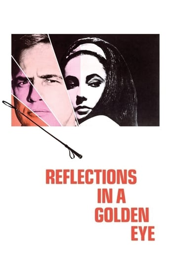 Poster of Reflections in a Golden Eye