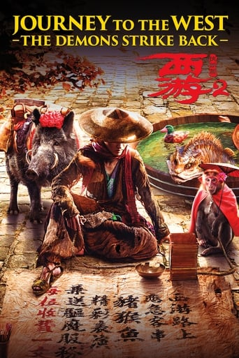 Poster of Journey to the West: The Demons Strike Back
