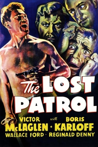 Poster of The Lost Patrol