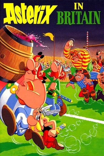 Poster of Asterix in Britain