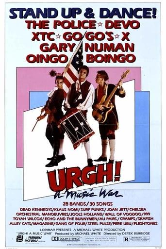 Poster of Urgh! A Music War
