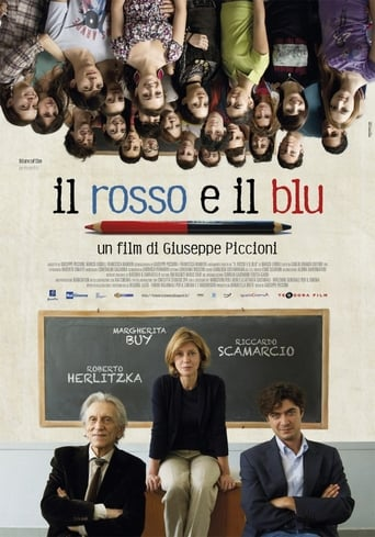 Poster of The Red and the Blue