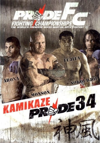Poster of Pride 34: Kamikaze