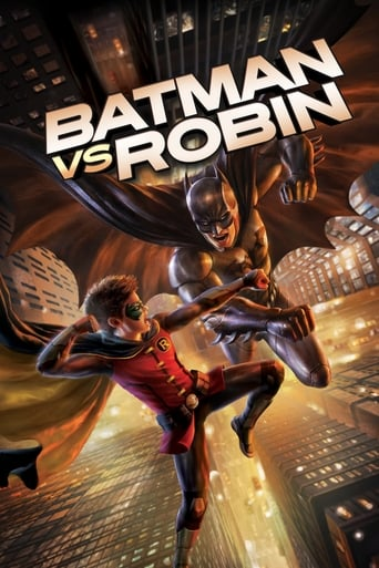 Poster of Batman vs. Robin