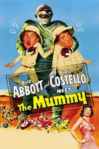 Poster of Abbott y Costello Contra la Momia
