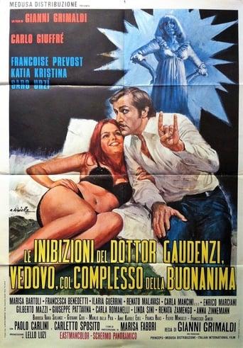 Poster of Le inibizioni del dottor Gaudenzi, vedovo col complesso della buonanima