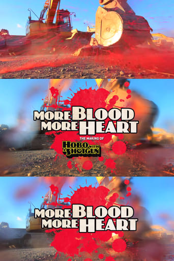 Poster of More Blood, More Heart: The Making of Hobo with a Shotgun