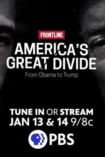 Poster of Frontline: America's Great Divide
