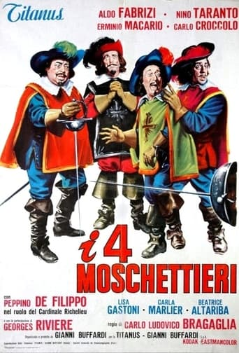 Poster of I quattro moschettieri