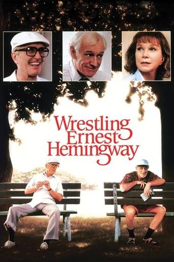 Wrestling Ernest Hemingway poster