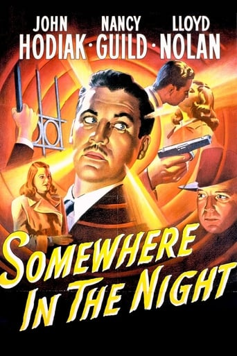 Poster of Somewhere in the Night