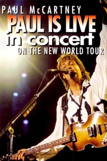 Paul is Live in Concert on The New World Tour poster