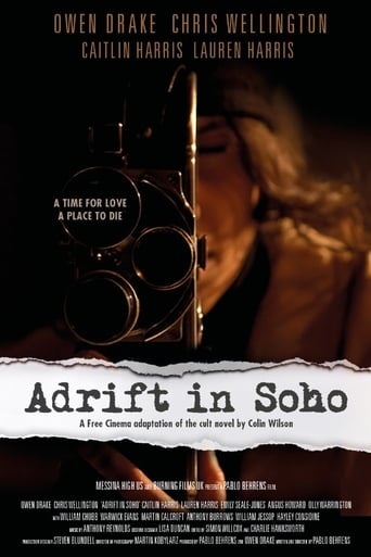 Poster of Adrift in Soho