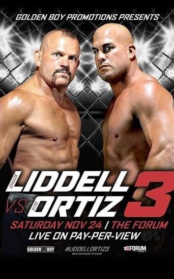 Poster of Golden Boy MMA Liddell vs Ortiz 3