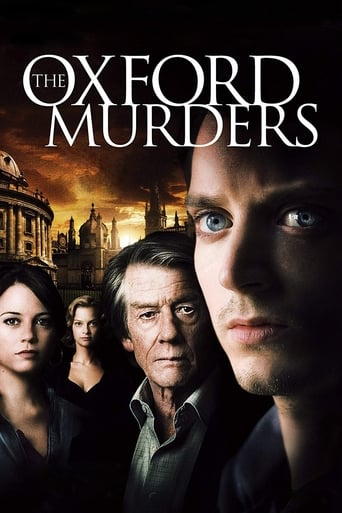 Poster of The Oxford Murders