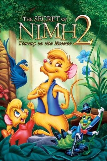 Poster of The Secret of NIMH 2: Timmy to the Rescue
